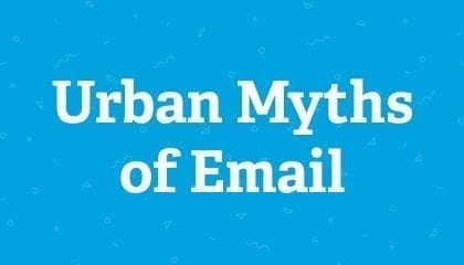 Urban Myths of Email
